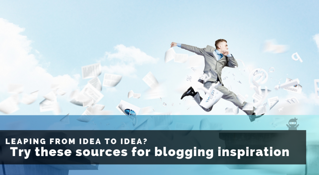 sources for blogging inspiration